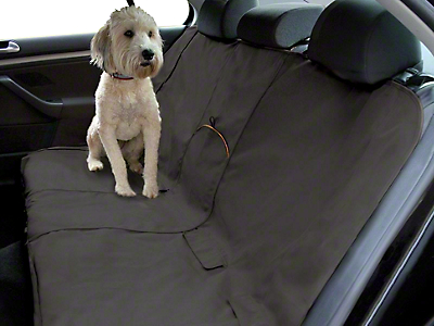 Kurgo Extended Width Wander Rear Bench Seat Cover - Charcoal - 63 in. wide (07-18 Sierra 1500 Extended/Double Cab, Crew Cab)