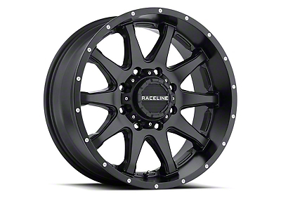 Raceline Shift Black 6-Lug Wheel - 17x8.5 (07-18 Sierra 1500)
