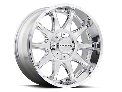Raceline Shift Chrome 6-Lug Wheel - 20x12 (07-18 Sierra 1500)