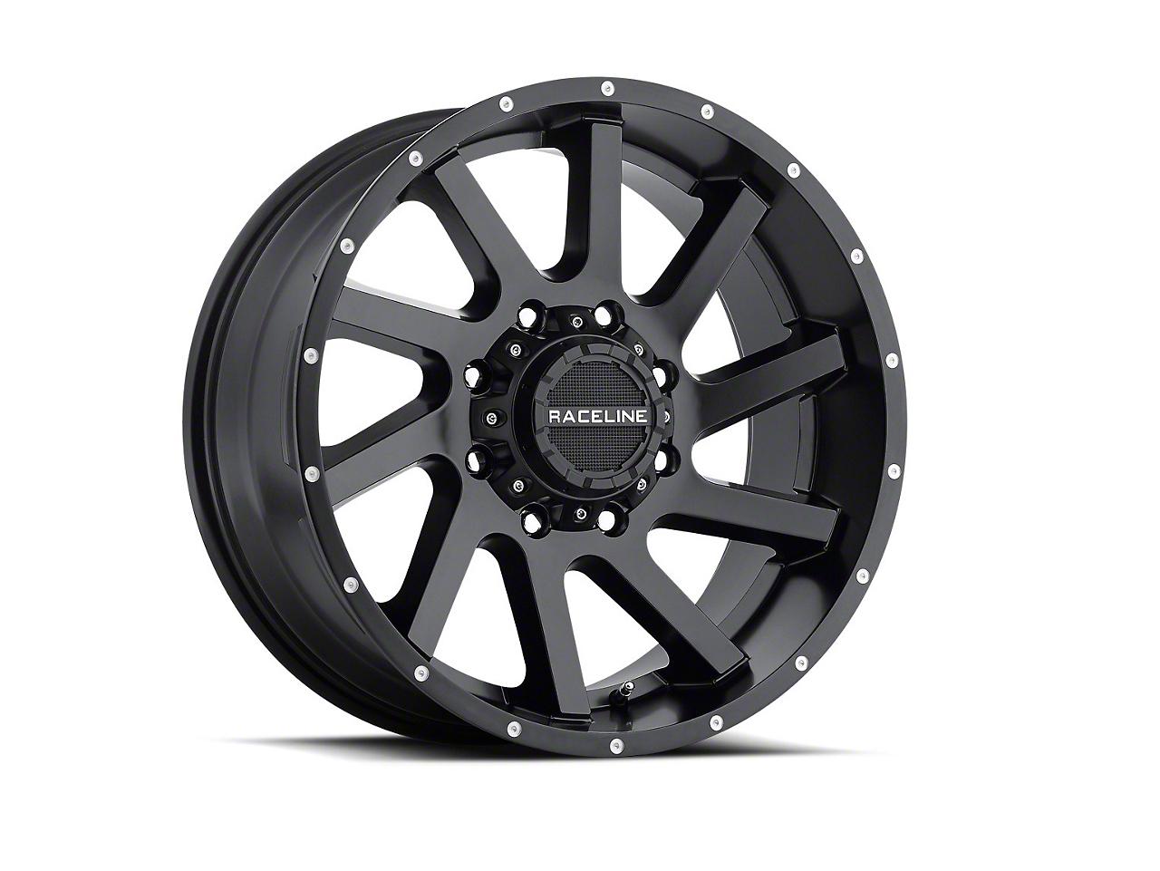 Raceline Twist Black 6-Lug Wheel - 20x12 (07-18 Sierra 1500)