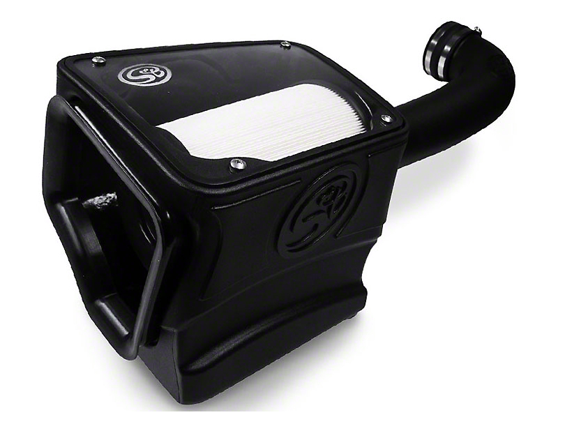 S&B Cold Air Intake w/ Dry Extendable Filter (14-18 5.3L Sierra 1500)