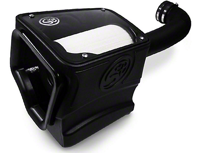 S&B Cold Air Intake w/ Dry Extendable Filter (14-16 6.2L Sierra 1500)
