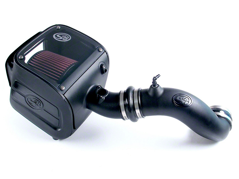 S&B Cold Air Intake w/ Oiled Cleanable Cotton Filter (2009 6.0L Sierra 1500, Excluding Hybrid)