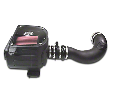 S&B Cold Air Intake w/ Oiled Cleanable Cotton Filter (07-08 5.3L Sierra 1500)