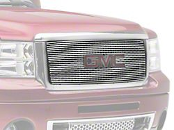 SpeedForm Overlay Grille with Logo Cutout; Polished (07-13 Sierra 1500)