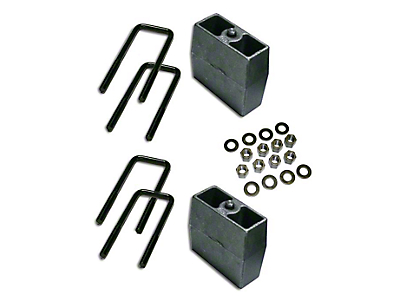 SuperLift 5 in. Rear Lift Block Kit (07-18 Sierra 1500)