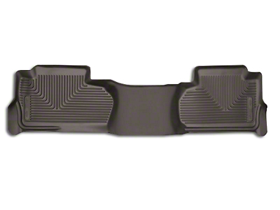 Husky X-Act Contour 2nd Seat Floor Liner - Cocoa (14-18 Sierra 1500 Double Cab, Crew Cab)