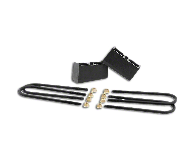 ReadyLIFT 3 in. Rear Block Lift Kit (07-18 Sierra 1500, Excluding 14-18 Denali)