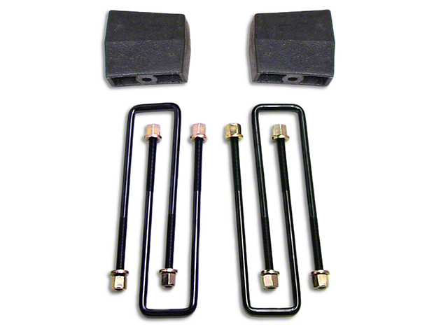 ReadyLIFT 4 in. Rear Lift Block Kit (14-18 Sierra 1500)