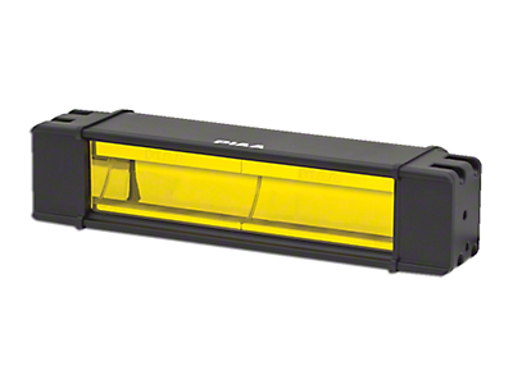 PIAA 10 in. RF Series Yellow LED Light Bar - Fog Beam