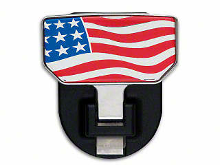 Carr HD Hitch Step w/ American Flag Logo (07-18 Sierra 1500)