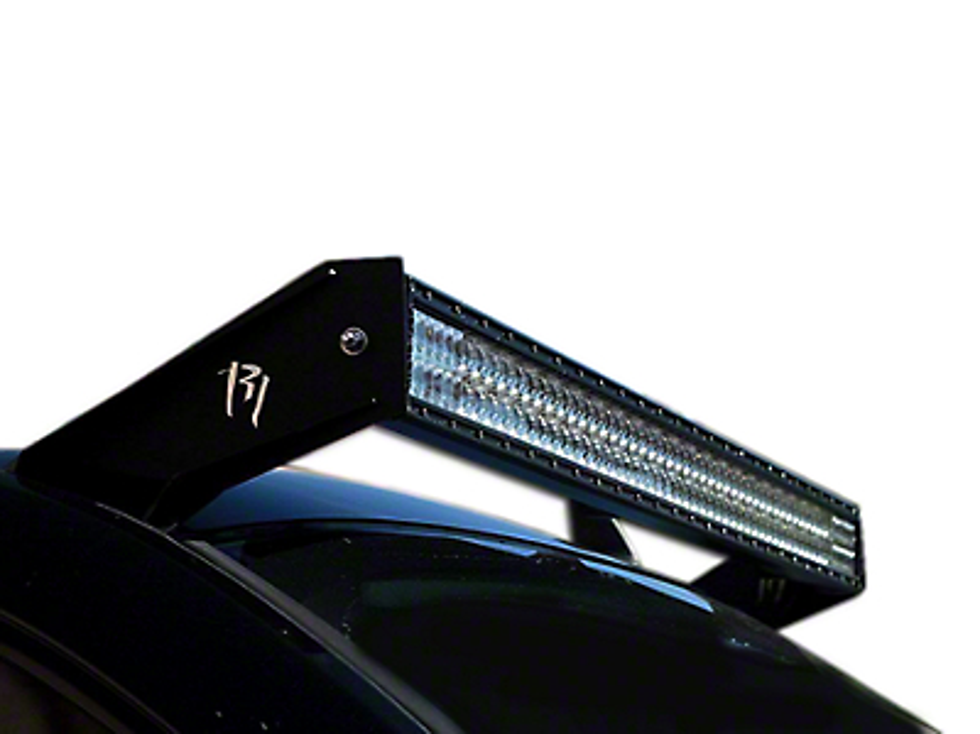 Rigid Industries 50 in. E-Series LED Light Bar Roof Mounting Brackets (07-13 Sierra 1500)
