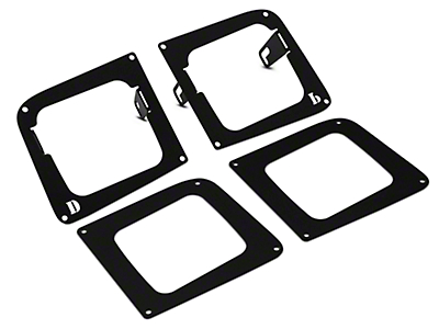 Rigid Industries D-Series Fog Light Mounting Brackets (14-15 Sierra 1500)