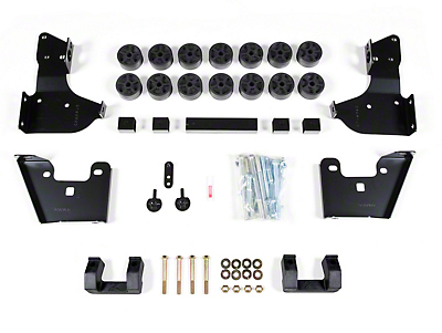 Zone Offroad 3.5 in. Combo Lift Kit (14-15 Sierra 1500)