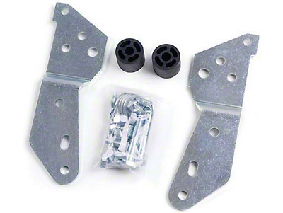 Zone Offroad 1.5 in. Rear Bumper Bracket (07-13 Sierra 1500)