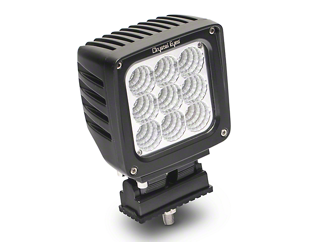 Alteon 4 in. Work LED Cube Light - 45 Degree Flood Beam