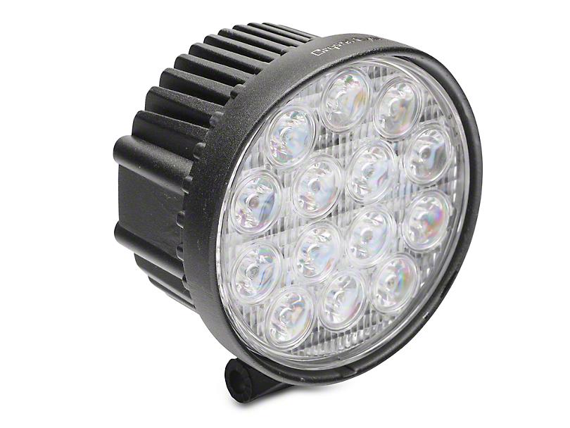 Alteon 4 in. Work Visor 14 LED Round Light - 60 Degree Flood Beam