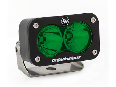 Baja Designs S2 Sport Green LED Light - Spot Beam