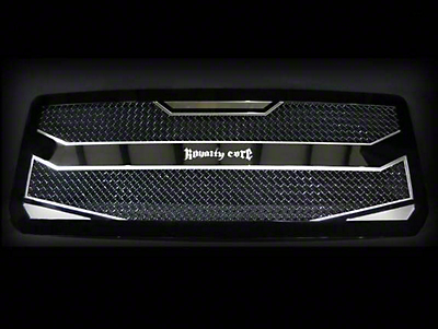 Royalty Core RC4 Layered Upper Replacement Grille - Black (14-15 Sierra 1500)