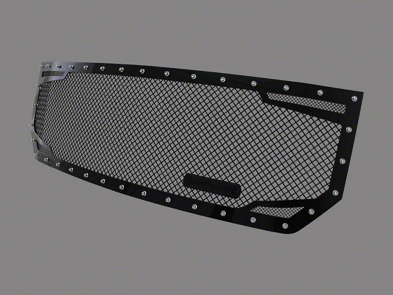 Royalty Core RC2 Twin Mesh Upper Replacement Grille - Black (16-18 Sierra 1500)