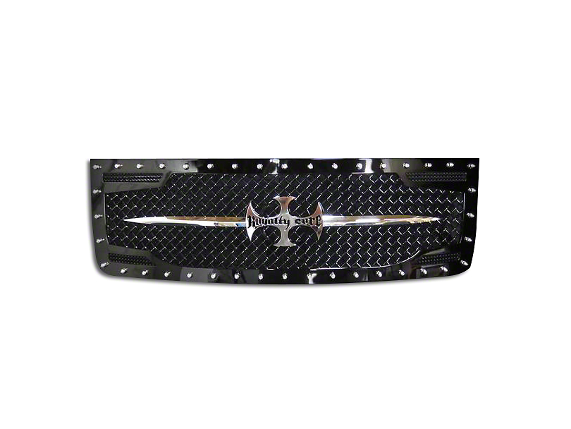 Royalty Core RC2 Upper Replacement Grille w/ Sword Assembly - Black (07-13 Sierra 1500)
