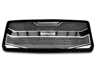 Royalty Core RC4 Layered Upper Replacement Grille - Black (07-13 Sierra 1500)