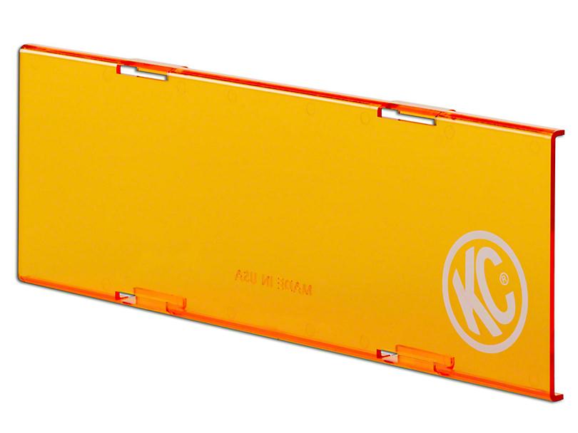 KC HiLiTES 10 in. C-Series Cover - Orange