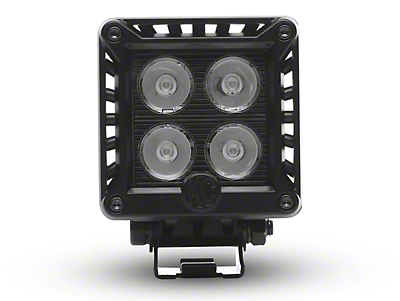 KC HiLiTES 3 in. LZR Series LED Cube Light - Spot Beam (07-18 Sierra 1500)