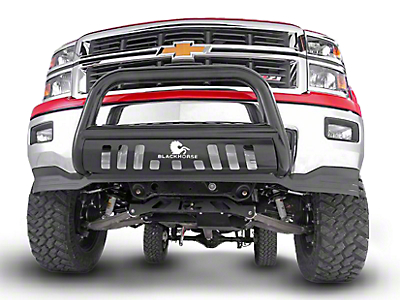 Black Horse Off Road Bull Bar - Black (07-18 Sierra 1500)