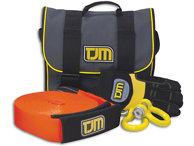 TJM Heavy Duty Snatch Strap Kit
