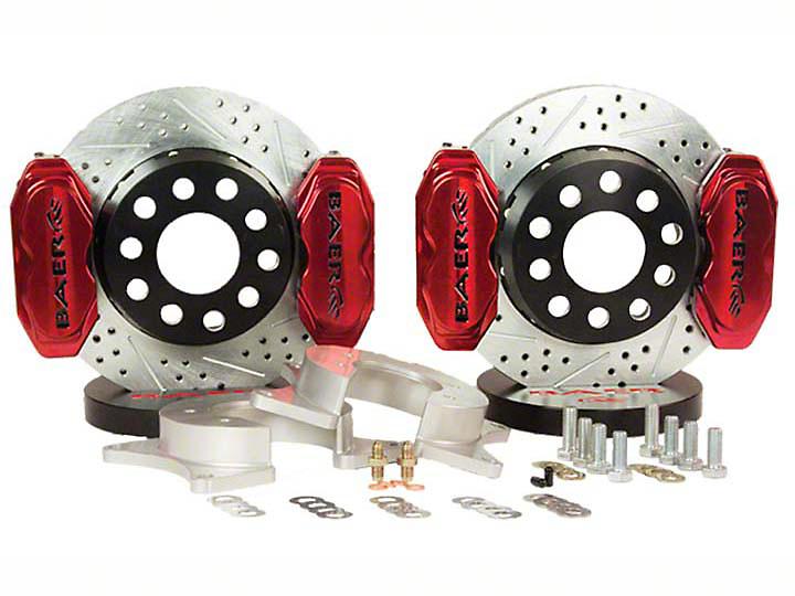 Baer AlumaSport Front Brake Kit - Red (07-18 Sierra 1500)