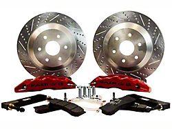 Baer Extreme Front Big Brake Kit; Red Calipers (07-18 Sierra 1500)