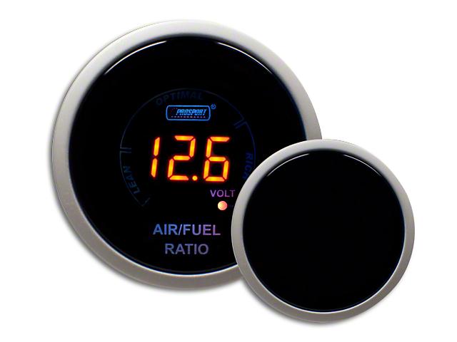 Prosport Digital Air Fuel Ratio & Volt Gauge - Electrical - Amber (07-19 Sierra 1500)