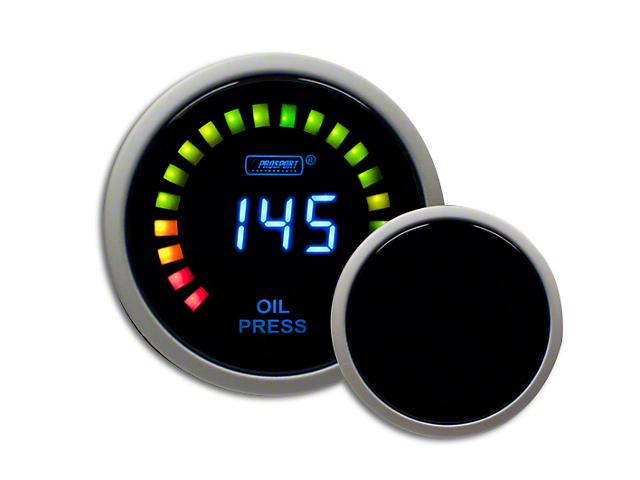 Prosport Digital Oil Pressure Gauge - Electrical (07-19 Sierra 1500)