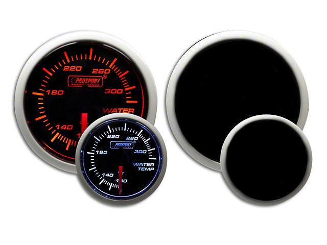 Prosport Dual Color EGT Premium Boost Gauge - Amber/White (07-19 Sierra 1500)