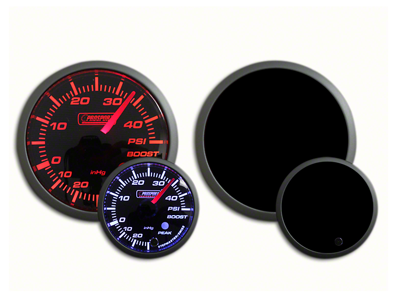 Prosport Dual Color 45 PSI Boost Gauge - Electrical - Amber/White (07-19 Sierra 1500)