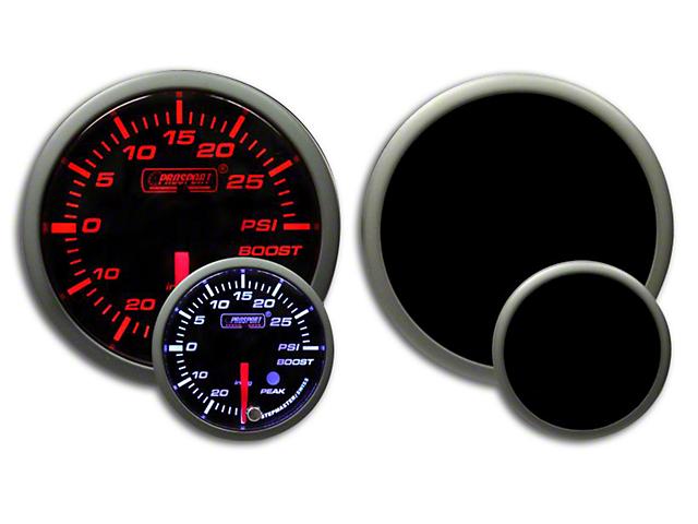 Prosport Dual Color Premium Boost Gauge - Electrical - Amber/White (07-19 Sierra 1500)