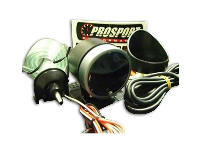Prosport Dual Color Premium Boost Gauge - Electrical - Green/White (07-19 Sierra 1500)
