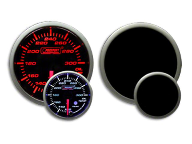 Prosport Dual Color Premium Oil Temperature Gauge - Amber/White (07-19 Sierra 1500)