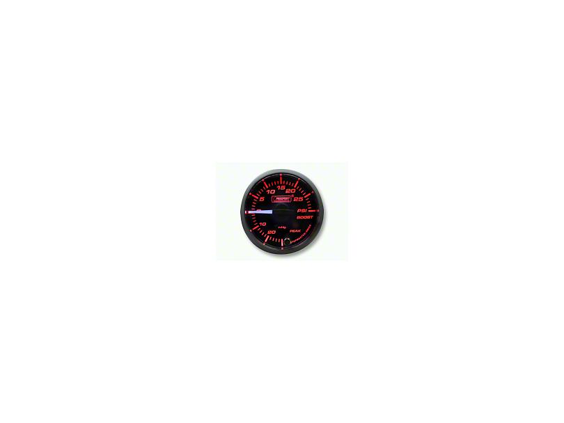 Prosport Dual Color Premium White Pointer Boost Gauge - Amber/White (07-19 Sierra 1500)