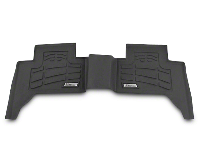 Wade Sure-Fit 2nd Row Floor Mat - Black (07-13 Sierra 1500 Extended Cab, Crew Cab)