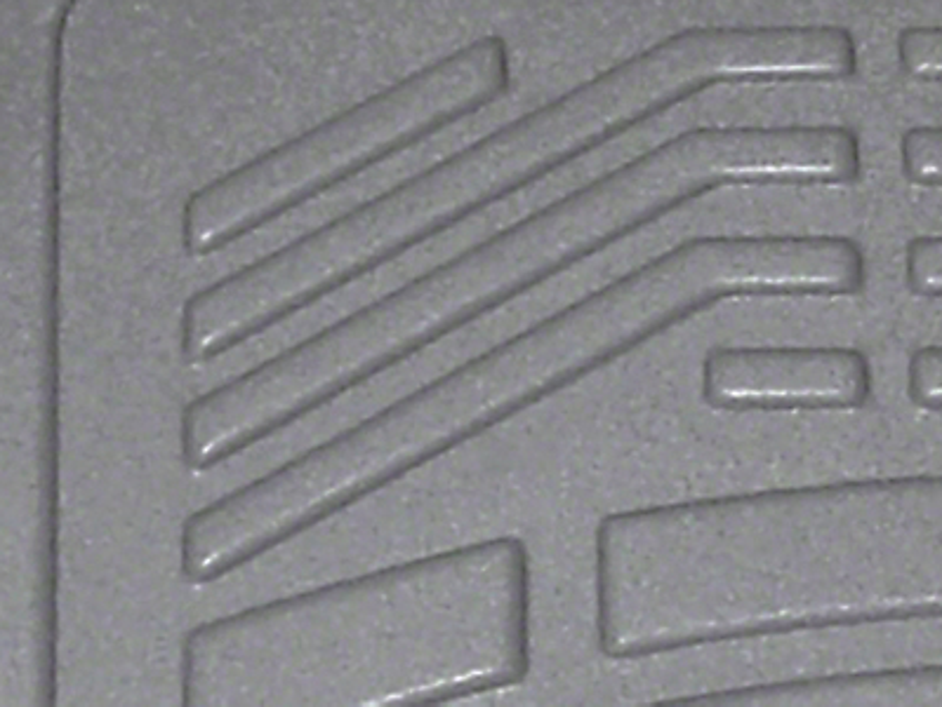 Wade Sure-Fit Front Floor Liners - Gray (07-13 Sierra 1500)