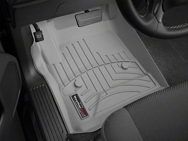 Weathertech DigitalFit Front Floor Liners - Gray (14-18 Sierra 1500)