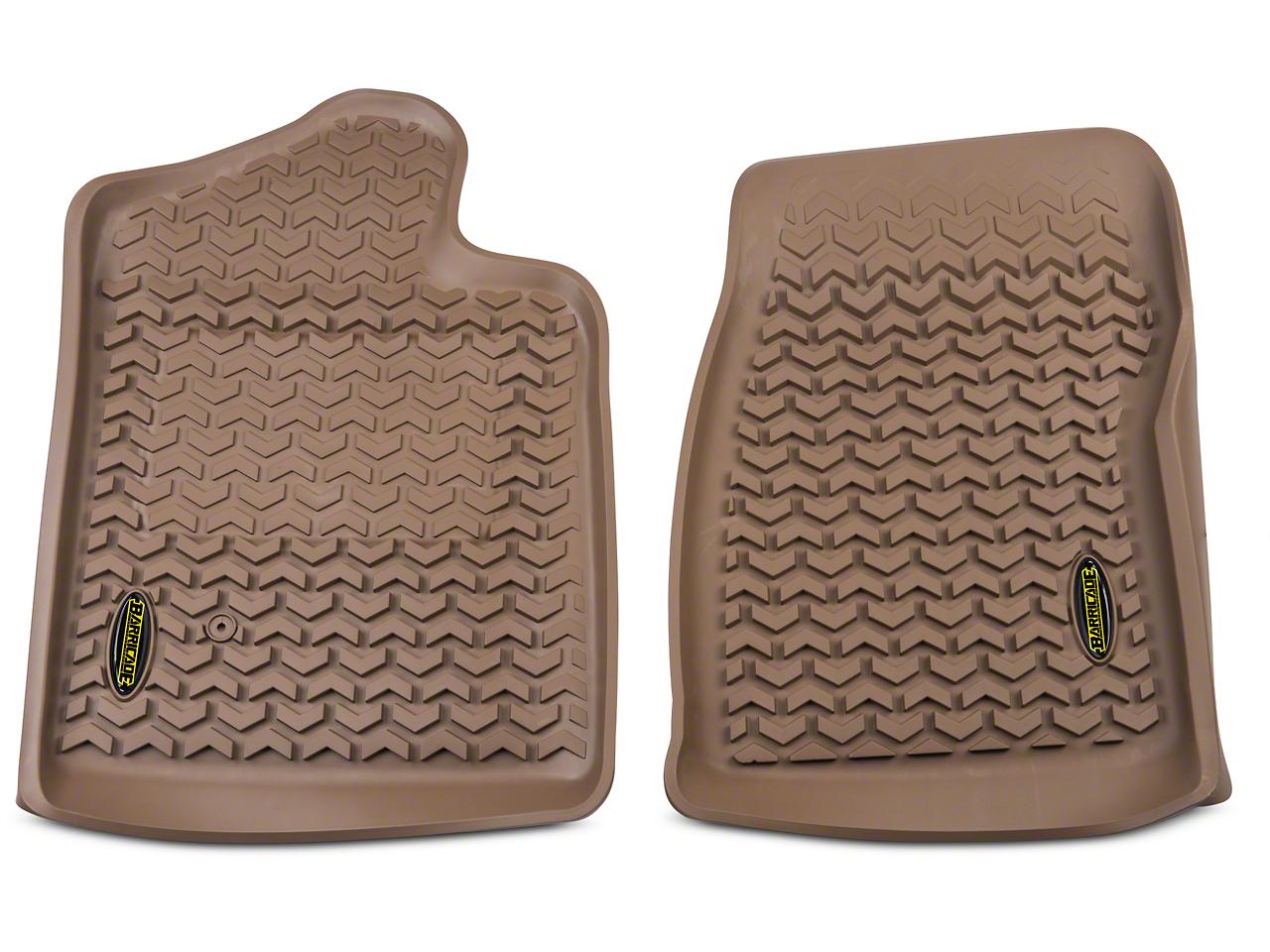 Barricade Front Floor Liners - Tan (07-13 Sierra 1500 Regular Cab)