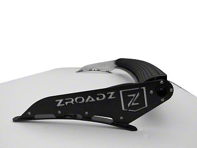 ZRoadz Front Roof 50 in. LED Light Bar Mounting Brackets (07-13 Sierra 1500)