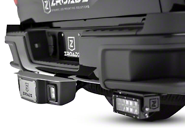 ZRoadz 2 in. Receiver Hitch Step for 3 in. LED Cube Lights (07-18 Sierra 1500)