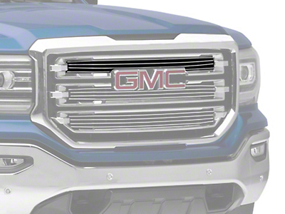 T-REX Billet Series Upper Overlay Grilles - Polished (16-18 Sierra 1500 SLT)