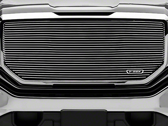T-REX Billet Series Upper Grille Insert - Polished (16-18 Sierra 1500)