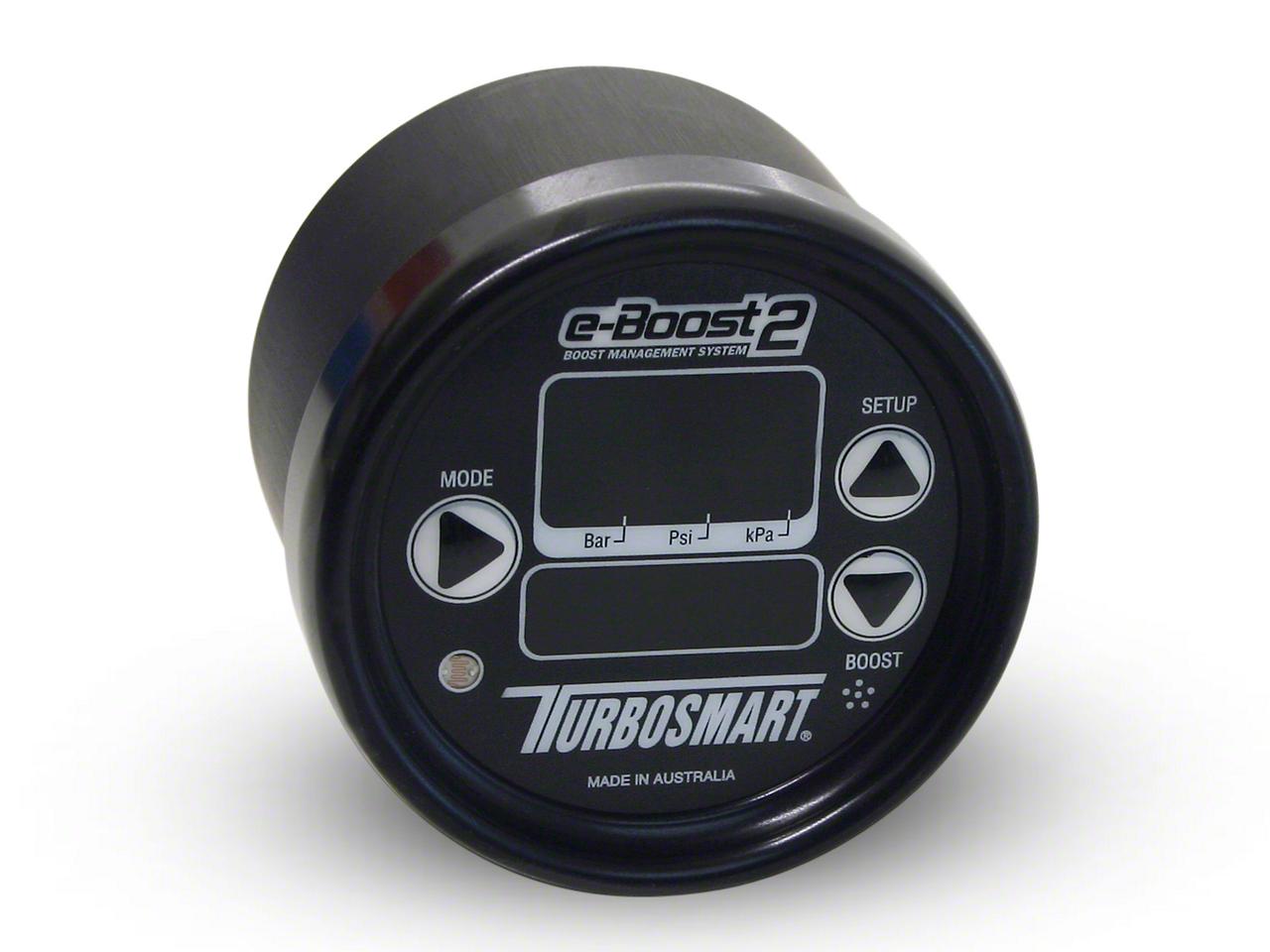 Turbosmart e-Boost2 Boost Controller - 66mm - Black (07-18 Sierra 1500)