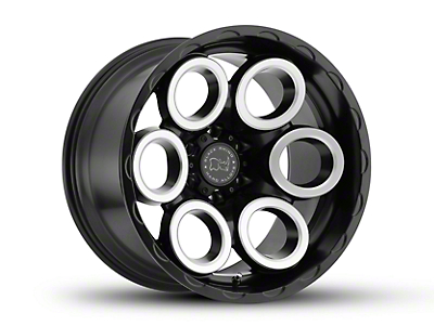 Black Rhino Magnus Matte Black Machined 6-Lug Wheel - 18x9.5 (07-18 Sierra 1500)